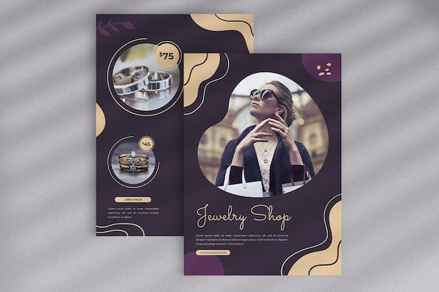 Jewellery Shop Flyer - product preview 4