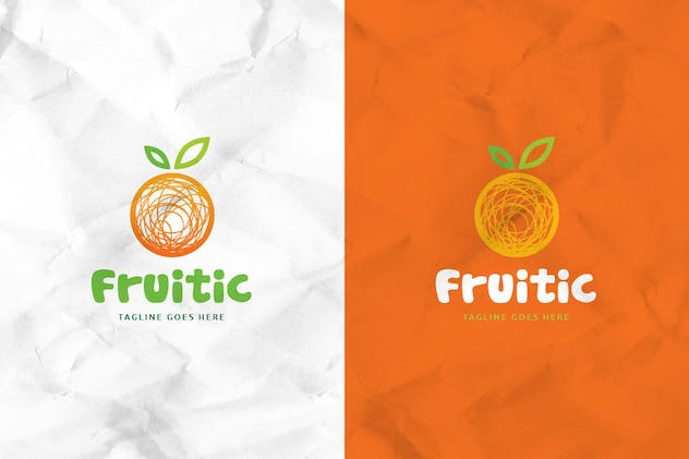 Fruitic Logo Template