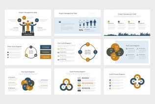 Thumbnail for Quore : Vector Infographic Business Google Slides