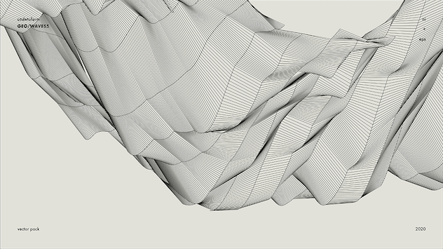 GEO_WAVES5 Vector Pack - product preview 8