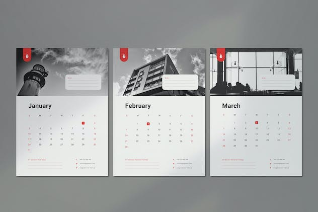 Wall Calendar 2021 - product preview 1