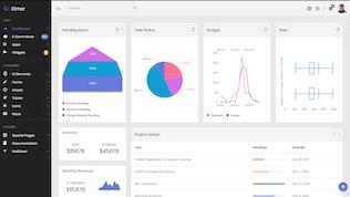Thumbnail for Elmer - Multipurpose Bootstrap Admin Dashboard