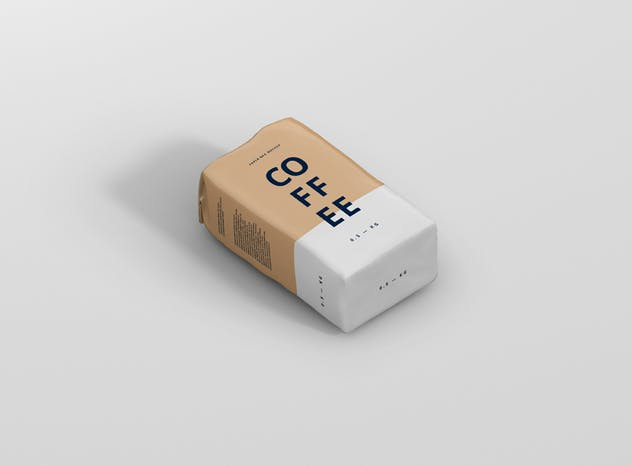 Coffee Paper Bag Mockup - product preview 3