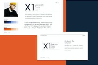 Thumbnail for X1 - Minimal Creative Google Slide