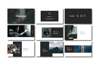 Thumbnail for Diamond - Keynote Templates