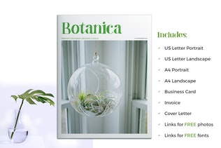 Thumbnail for Botanica - Portfolio / Photobook / Brochure