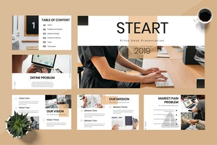 Thumbnail for Steart - Pitch Deck Powerpoint Presentation