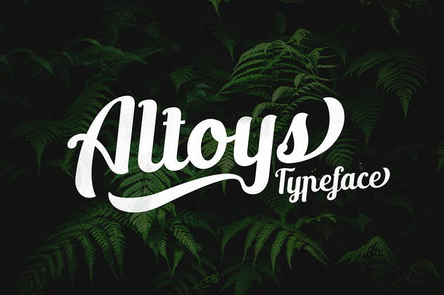 Altoys typeface - product preview 0