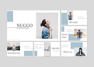 Thumbnail for Nuggo - Powerpoint Template