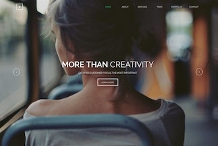 Thumbnail for Yours - Creative Onepage Adobe Muse Template