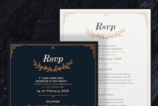 Thumbnail for Wreath Wedding Invitations