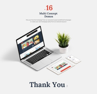 Thumbnail for Logger – Flat Blog & Magazine PSD Template