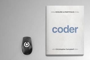Thumbnail for Coder - Portfolio