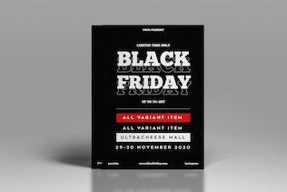 Black Friday Flyer Template Vol. 02