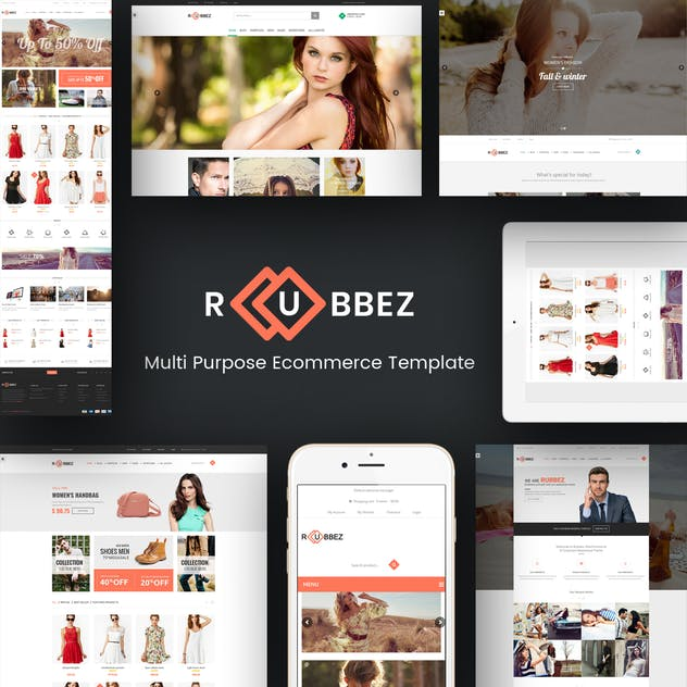 Rubbez- WooCommerce & Corporate WordPress Theme