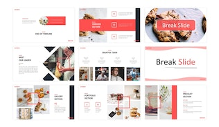 Thumbnail for Cookies  - Business Keynote Template