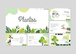 Thumbnail for Plantos - Google Slides Template
