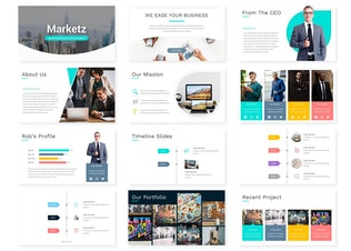 Thumbnail for Marketz - Keynote Template