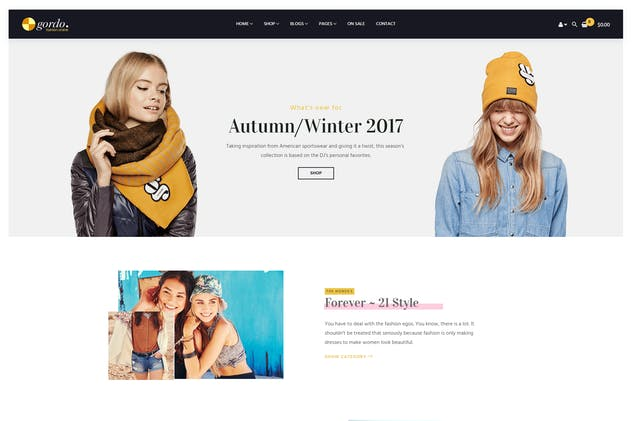 Gordo - Responsive WooCommerce WordPress Theme - product preview 1