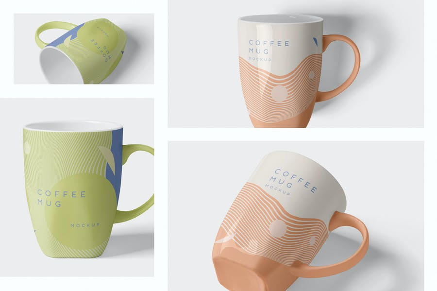 4 Awesome Coffee Mug Mockups