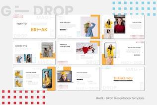 Миниатюра для MAGE DROP - Шаблон ключевых заKeynote и Instagram