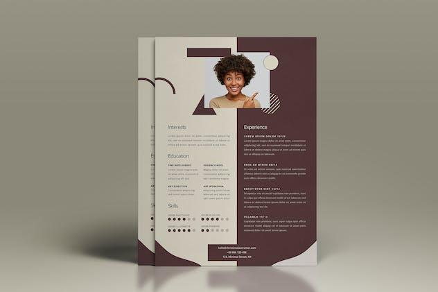 Elegant CV Resume Vol. 04 - product preview 2