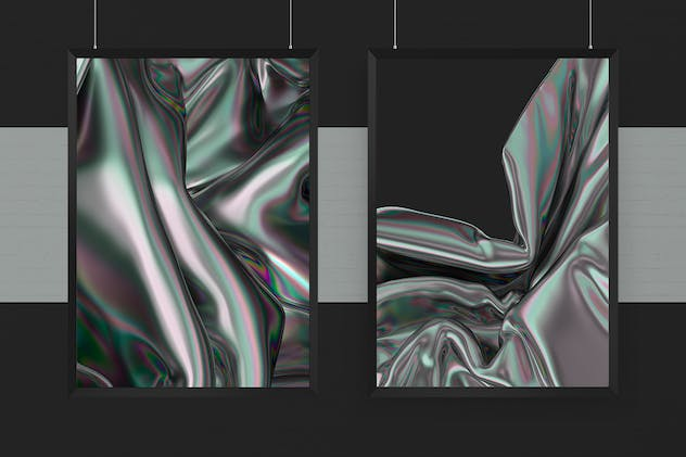 Iridescent Abstract Backgrounds - product preview 4
