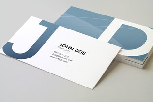Thumbnail for 90x50 Business Card Mockup v2