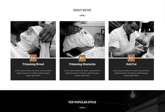 Hobber - Barbershop, Hair & Salon Muse Template YR - product preview 0
