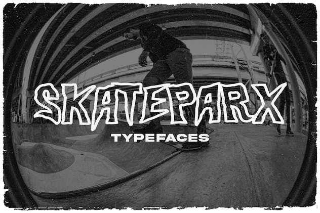 Skateparx - Typeface - product preview 8