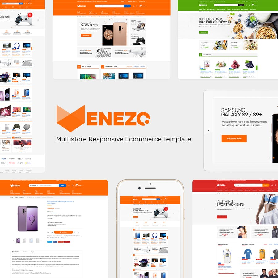 Venezo - Responsive Prestashop Theme - product preview 1