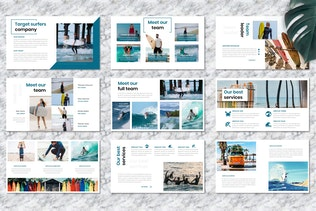 Surfers - Creative Business Googleslide Template