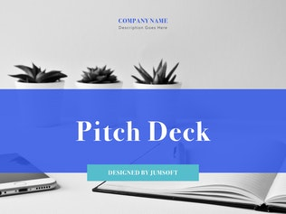 Thumbnail for Pitch Deck Keynote Template