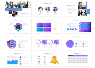 Business Project - Google Slides Template
