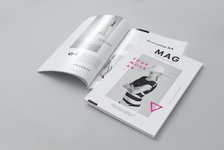 A4 Magazine Mock-up 2