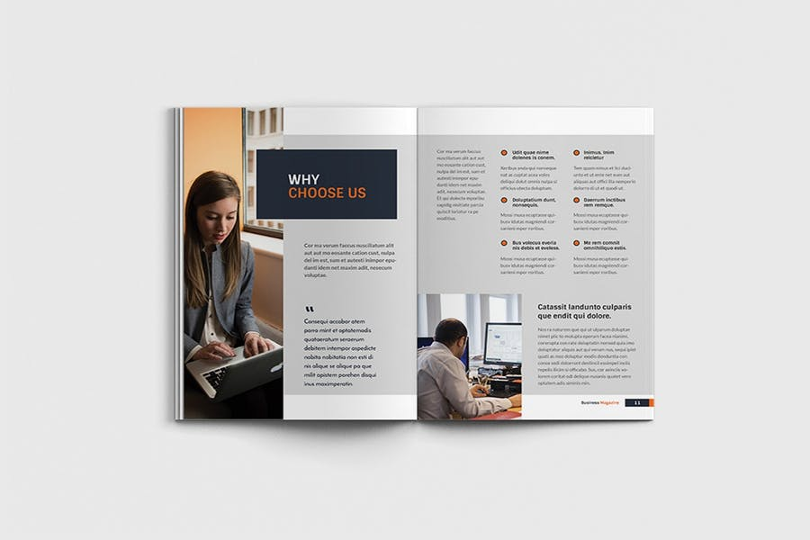 Workfice - A4 Business Brochure Template - product preview 5