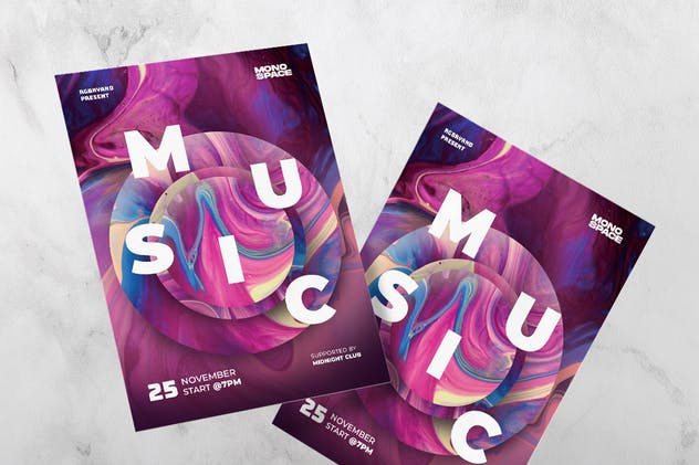 Music Festival Flyer - product preview 3
