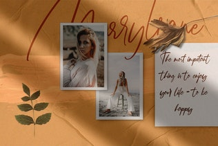 Thumbnail for Marryliane Handwriting Font