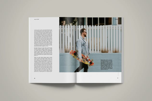 Magazine Template | Petrichor - product preview 3