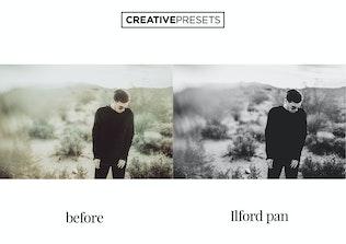 Thumbnail for ✨Vintage Film Black & White Lightroom Presets