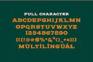 Miniature pour Hurscol Vintage Typeface