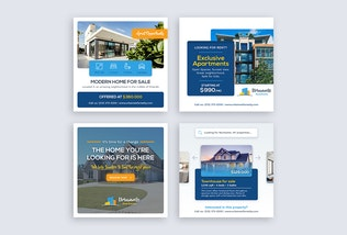 Thumbnail for Real Estate Banners
