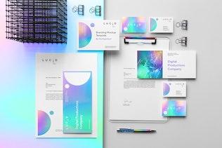 Lucid Branding Mockup Vol. 1