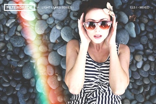 Thumbnail for FilterGrade Light Leaks Photoshop Actions S1