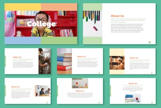 Thumbnail for College - Back to School Powerpoint