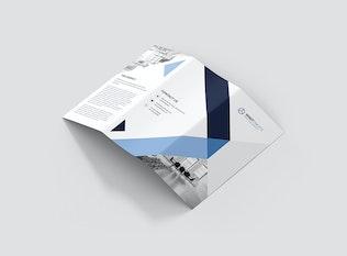 Thumbnail for Brochure – Digital Agency Tri-Fold