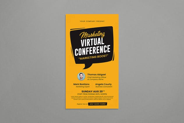 Virtual Conference - product preview 2