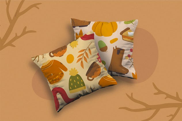 Falling Season Vector Clipart Pack - product preview 1
