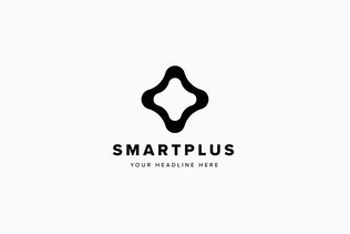 Thumbnail for Smart Plus Logo Template