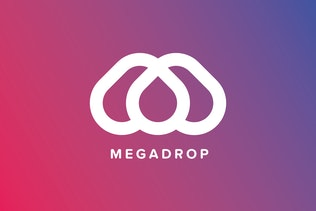 Thumbnail for Mega Drop Logo Template